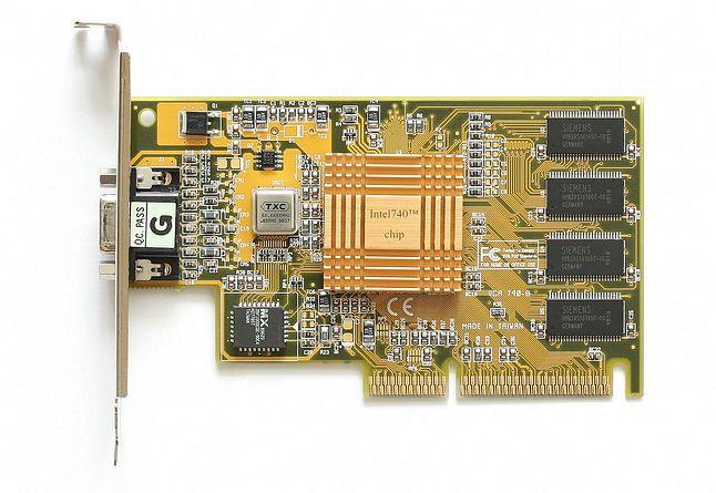 i740: tak zaczęła się (i właściwie skończyła) przygoda Intela z samodzielnymi kartami graficznymi (źródło: Wikimedia)