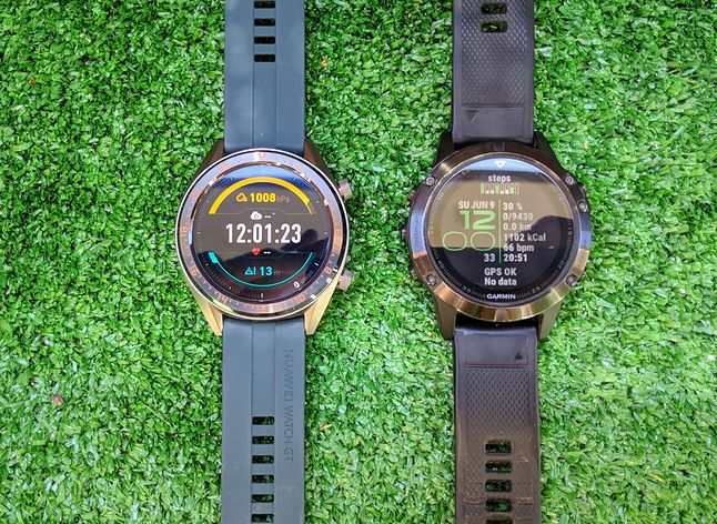 Huawei Watch GT vs Garmin Fenix 5