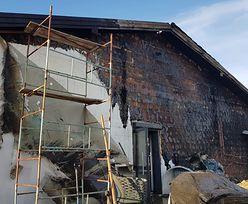 Wiejski sklep spłonął. Gospodynie zbierają na jego odbudowę