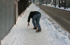 Upadek na lodzie - pierwsza pomoc