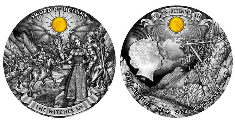 Nowa moneta z Wiedźminem już gotowa. Cena zwala z nóg