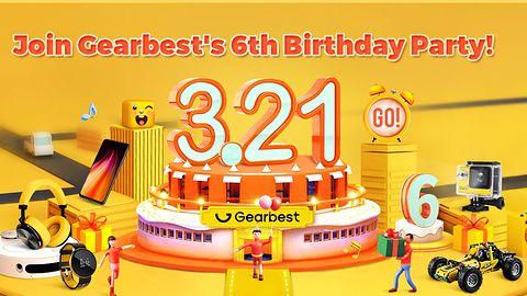 Łowca Okazji: 6-urodziny Gearbest!