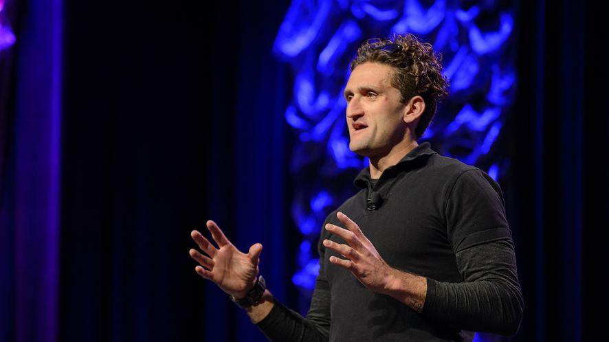 Casey Neistat, jeden z najbardziej rozpoznawalnych youtuberów, fot. Getty Images