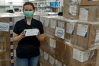Intel pomaga lekarzom w Trójmieście. Maseczki i serwery usprawnią walkę z koronawirusem - Intel pomaga szpitalom w Gdańsku. Nie zapomniał też o szkołach (fot. Uniwersyteckie Centrum Kliniczne @ Facebook)