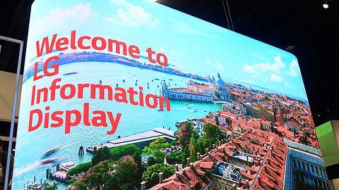 LG zaprezentował nowy panel informacyjno-reklamowy Micro LED