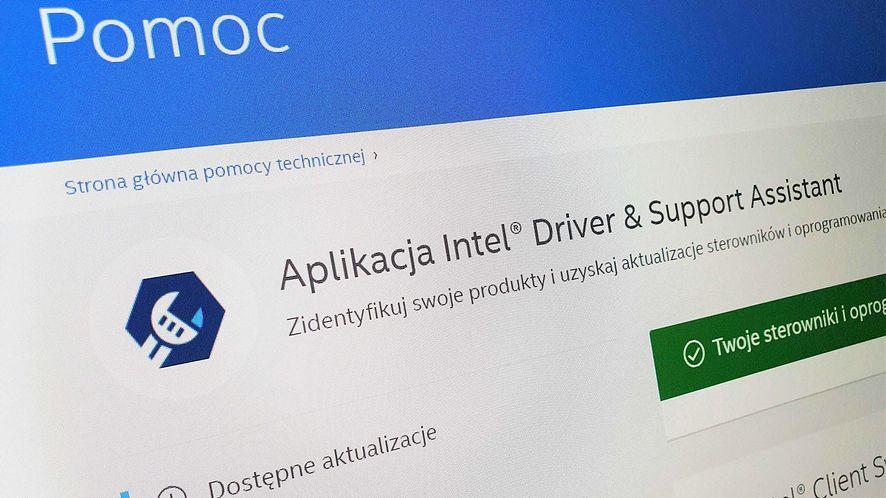 Intel wydał nowe sterowniki, fot. Oskar Ziomek