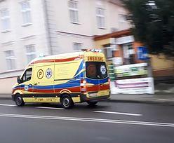 Krwawy wypadek w Lipnie. Karetka nie przyjechała do pracownika
