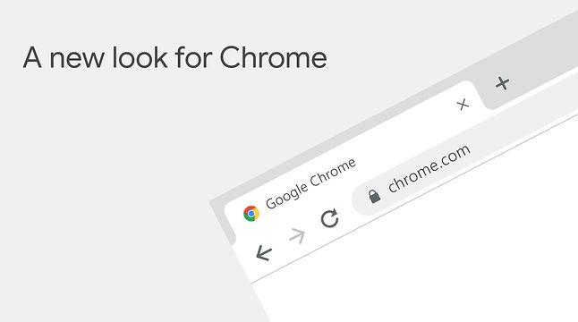 Nowy wygląd Chrome'a na komputerach, źródło: Google.