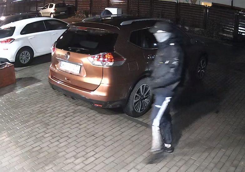 Tak w Polsce działają złodzieje aut. Wszystko nagrała kamera