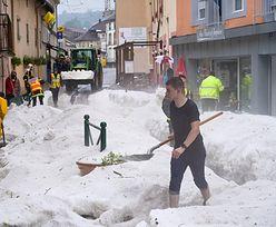 To zdjęcie z Europy. Pogoda zbzikowała. Atak zimy w środku lata
