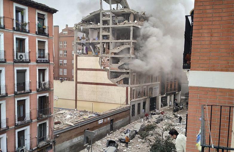 Potężna eksplozja w Madrycie. Trzy osoby nie żyją