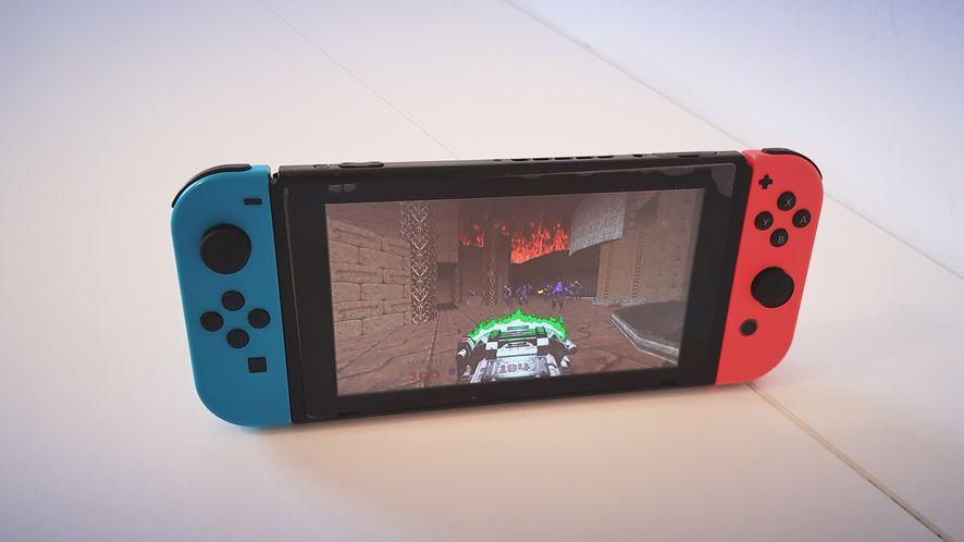 Doom 64 na Nintendo Switch jest sprzedawany jako osobna gra, fot. Jakub Krawczyński