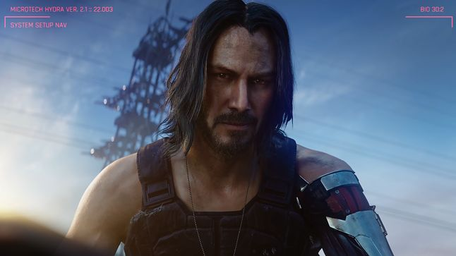 Keanu Reeves zagra jedną z głównych ról w grze Cyberpunk 2077, fot. CD Projekt RED