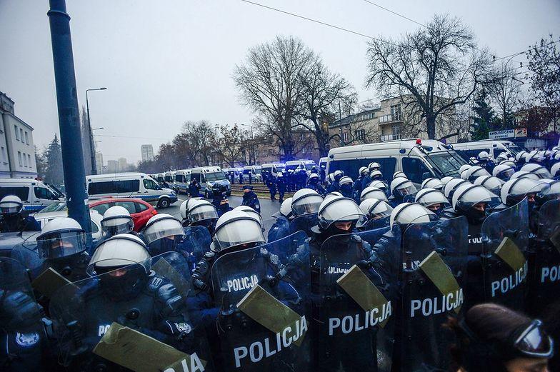 Strajk Kobiet. Pokojowy protest? Policja pokazała film