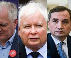Kaczyński wyskoczył na wino. Wpadł Gowin i Ziobro