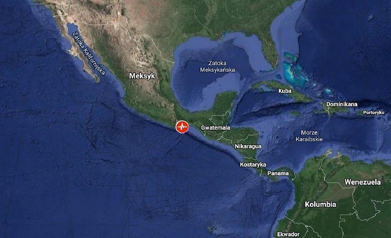 Potężne trzęsienie ziemi w Meksyku. Obawiają się tsunami