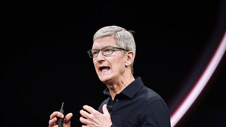 Tim Cook, CEO Apple, fot. Justin Sullivan/Getty Images