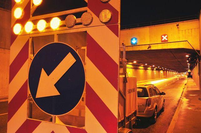 Wymienią system przeciwpożarowy w tunelu Wisłostrady!