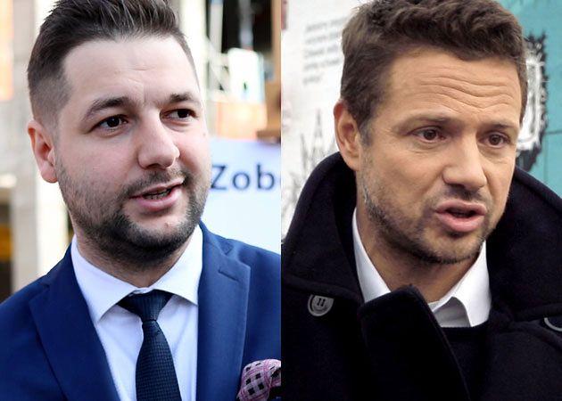 Rafał Trzaskowski w sondażu wygrał z Patrykiem Jakim