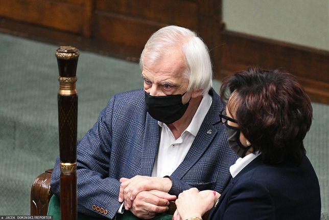 Sejm. Ryszard Terlecki oraz Elżbieta Witek