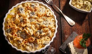 Zapiekane ravioli. Obiad we włoskim stylu