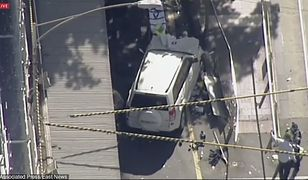 Auto wjechało w pieszych w Melbourne