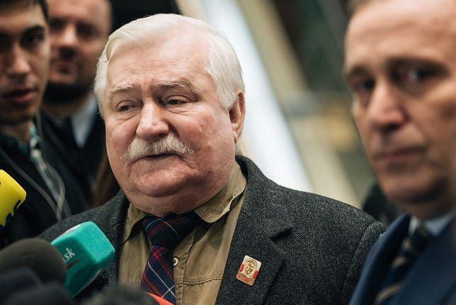 Lech Wałęsa wystąpił w weekend na konwencji KO i publicznie strofował polityków opozycji