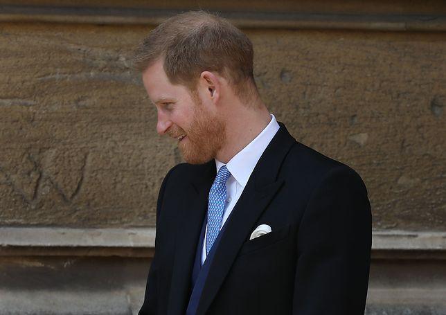 Książę Harry niedawno został ojcem