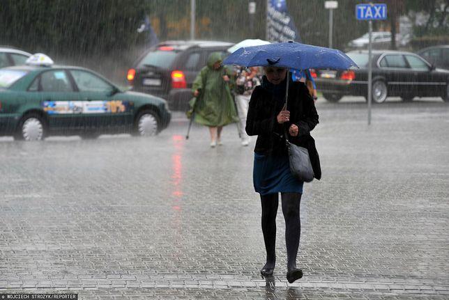 Przelotne opady wystąpią w prawie całym kraju/ Zdjęcie ilustracyjne