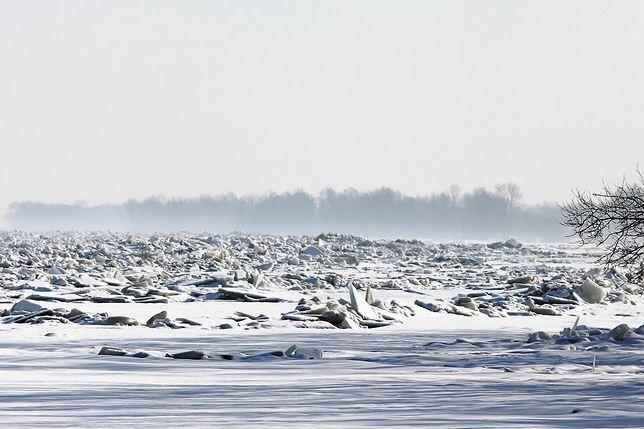 Lód na Wiśle. IMGW wydał alerty