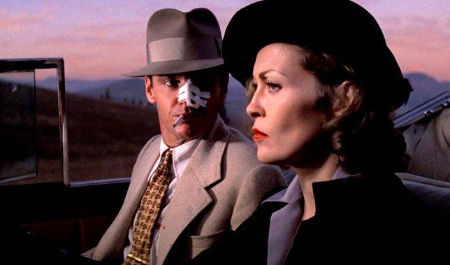 """""""Chinatown"""" z Jackiem Nicholsonem i Faye Dunaway było kasowym hitem."""
