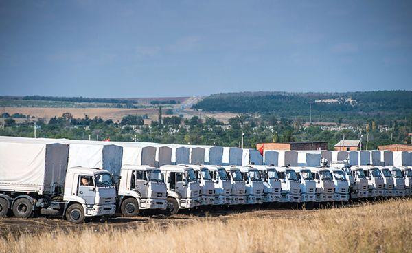 Rosyjski konwój humanitarny ruszył przez granicę?