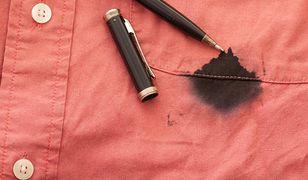 Najlepsze metody na plamy z długopisu