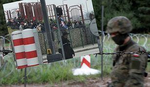 Dramatyczna sytuacja na granicy. Do sieci trafiło zdjęcie migrantów