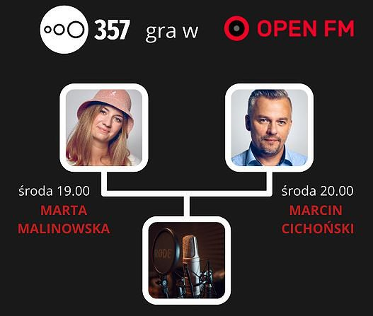 Audycji Radia 357 można słuchać w Open FM