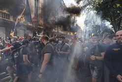 Zamieszki przed siedzibą prezydenta Ukrainy. Są ranni