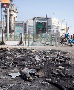 Zamieszki w Barcelonie. Rannych zostało kilkunastu policjantów