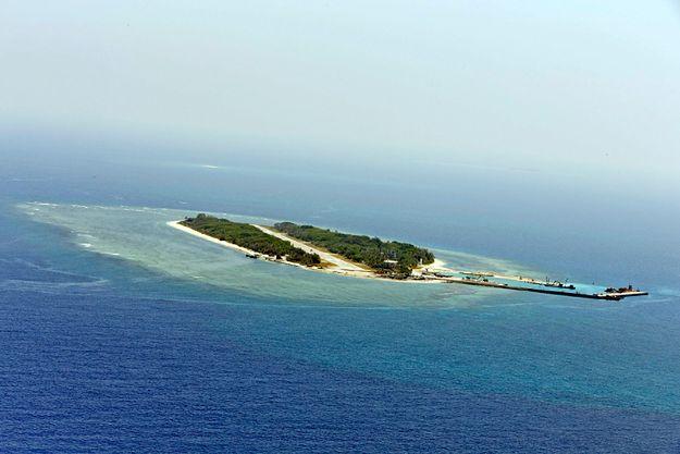 Wyspa Taiping na Morzu Południowochińskim