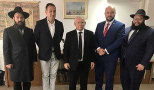 Jarosław Kaczyński na spotkaniu z Żydami z organizacji żydowskich w Polsce