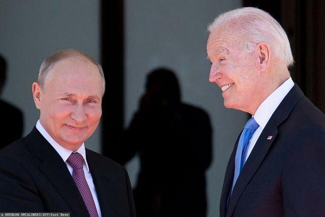 Po spotkaniu z Bidenem. Putin odpowiada dziennikarzom