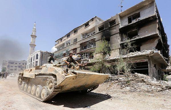 Ponad 180 tys. zabitych, jedna trzecia to cywile - podało Syryjskie Obserwatorium Praw Człowieka