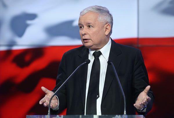 Jarosław Kaczyński: dzielący prawicę są sojusznikami PO