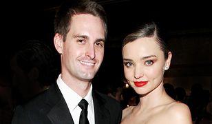 Evan Spiegel i Miranda Kerr zostaną rodzicami