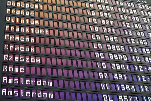Opóźnienia samolotów w Londynie