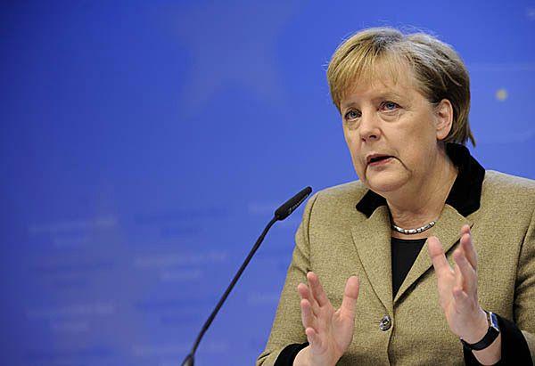 Angela Merkel znów krytykuje Rosję