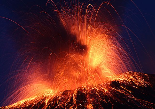 Wybuchy wulkanów, które świat zapamiętał