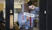 Bankowy oddział zamknięty