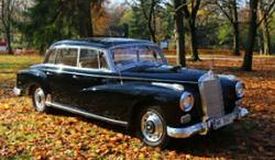 Jeździliśmy limuzyną Gomułki - Mercedes 300D Adenauer