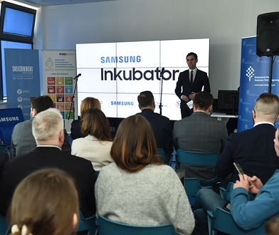 Otwarcie Samsung Inkubator