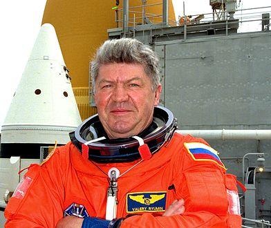 Walerij Riumin jest jednym z najbardziej doświadczonych kosmonautów w Rosji